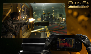 Aperçu Deus Ex : Human Revolution Director's Cut Wii U - Screenshot 1