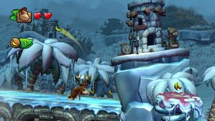 Aperçu Donkey Kong Country : Tropical Freeze - E3 2013 Wii U - Screenshot 18