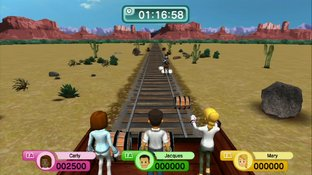 Test Family Party : 30 Great Games Obstacle Arcade Wii U - Screenshot 1