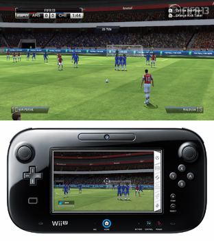 Aperçu FIFA 13 - GC 2012 Wii U - Screenshot 5
