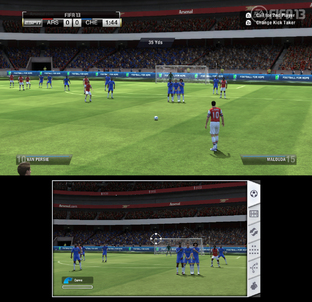 Aperçu FIFA 13 - GC 2012 Wii U - Screenshot 6