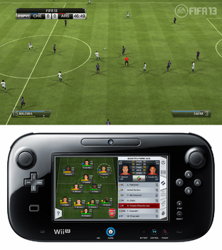 Aperçu FIFA 13 - GC 2012 Wii U - Screenshot 9