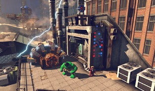 Aperçu Lego Marvel Super Heroes Wii U - Screenshot 2