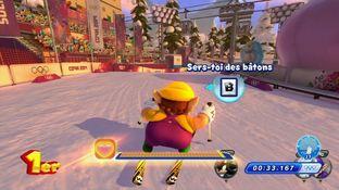 Test Mario & Sonic aux Jeux Olympiques d'Hiver de Sotchi 2014 Wii U - Screenshot 43