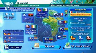 Test Mario & Sonic aux Jeux Olympiques d'Hiver de Sotchi 2014 Wii U - Screenshot 44