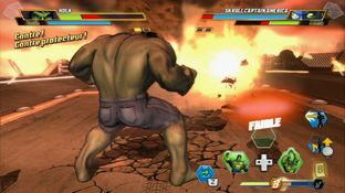 Test Marvel Avengers : Battle for Earth Wii U - Screenshot 25