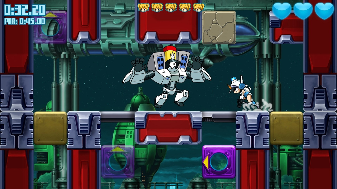 Mighty Switch Force ! Hyper Drive Edition
