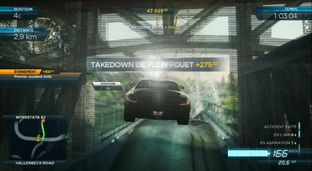 Test Need for Speed : Most Wanted U Wii U - Screenshot 8