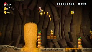 Test New Super Mario Bros. U Wii U - Screenshot 69
