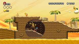 Test New Super Mario Bros. U Wii U - Screenshot 70