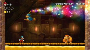 Test New Super Mario Bros. U Wii U - Screenshot