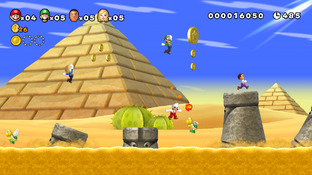 Aperçu New Super Mario Bros. U - E3 2012 Wii U - Screenshot 1