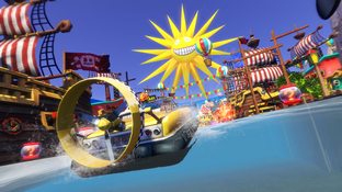 Aperçu Sonic & Sega All-Stars Racing Transformed - GC 2012 Wii U - Screenshot 12
