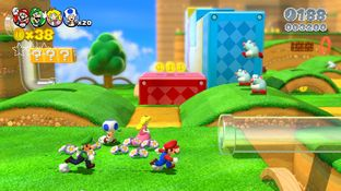 Aperçu Super Mario 3D World - E3 2013 Wii U - Screenshot 7