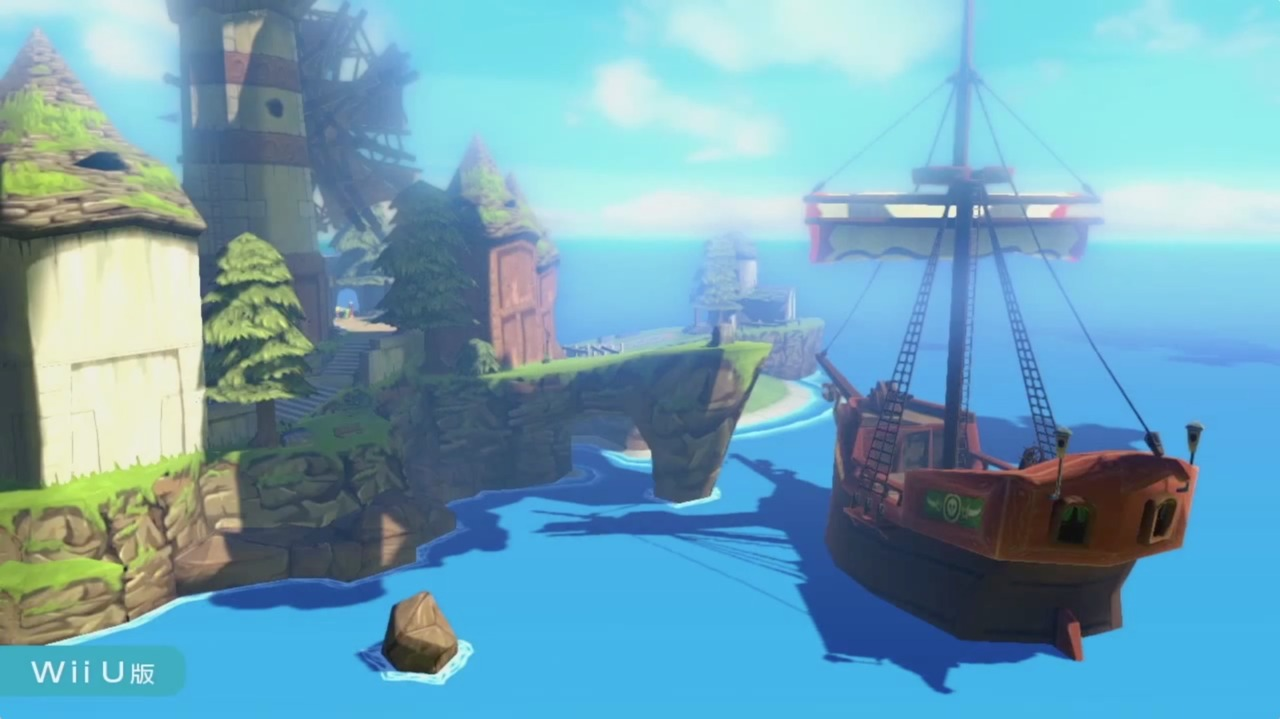 Images The Legend of Zelda : The Wind Waker HD Wii U - 2