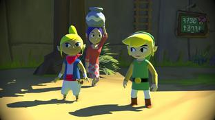 The Legend of Zelda  : Wind Waker compare ses versions