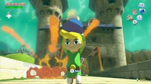 Test The Legend of Zelda : The Wind Waker HD Wii U - Screenshot 38