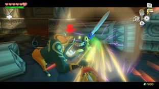 Test The Legend of Zelda : The Wind Waker HD Wii U - Screenshot 41