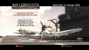 Test Air Conflicts : Pacific Carriers Xbox 360 - Screenshot 28