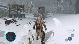 Test Assassin's Creed III : La Tyrannie du Roi Washington - Episode 1 - Déshonneur Xbox 360 - Screenshot 9