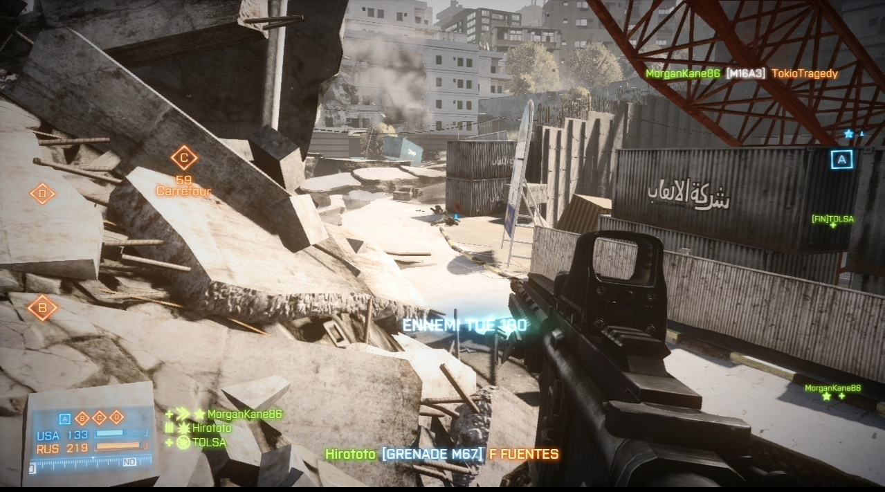 Images Battlefield 3 : Aftermath Xbox 360 - 13