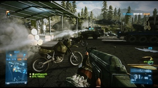 Test Battlefield 3 : End Game Xbox 360 - Screenshot 5