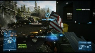 Test Battlefield 3 : End Game Xbox 360 - Screenshot 7