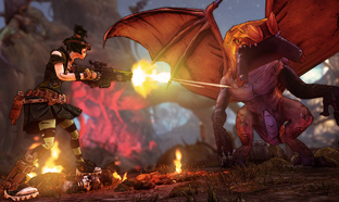 Test Borderlands 2 : Tiny Tina's Assault on Dragon Keep Xbox 360 - Screenshot 13