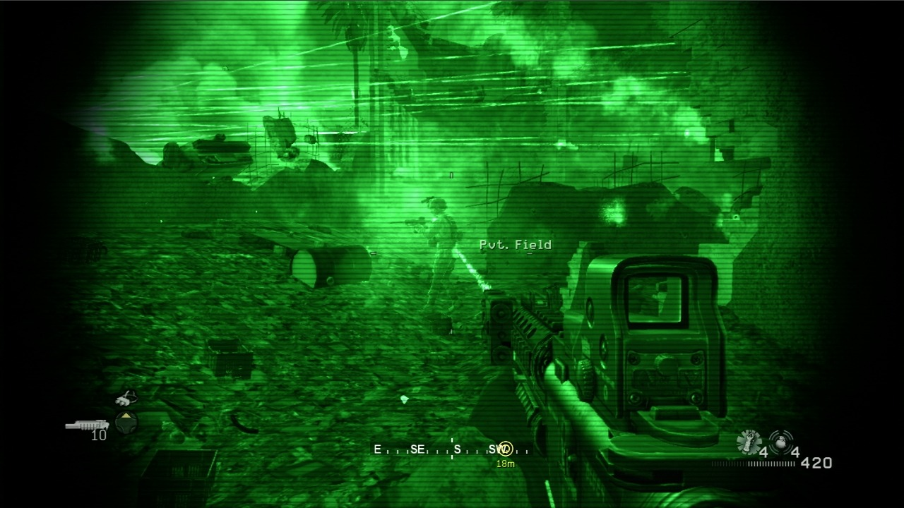 Images Call of Duty 4 : Modern Warfare Xbox 360 - 43