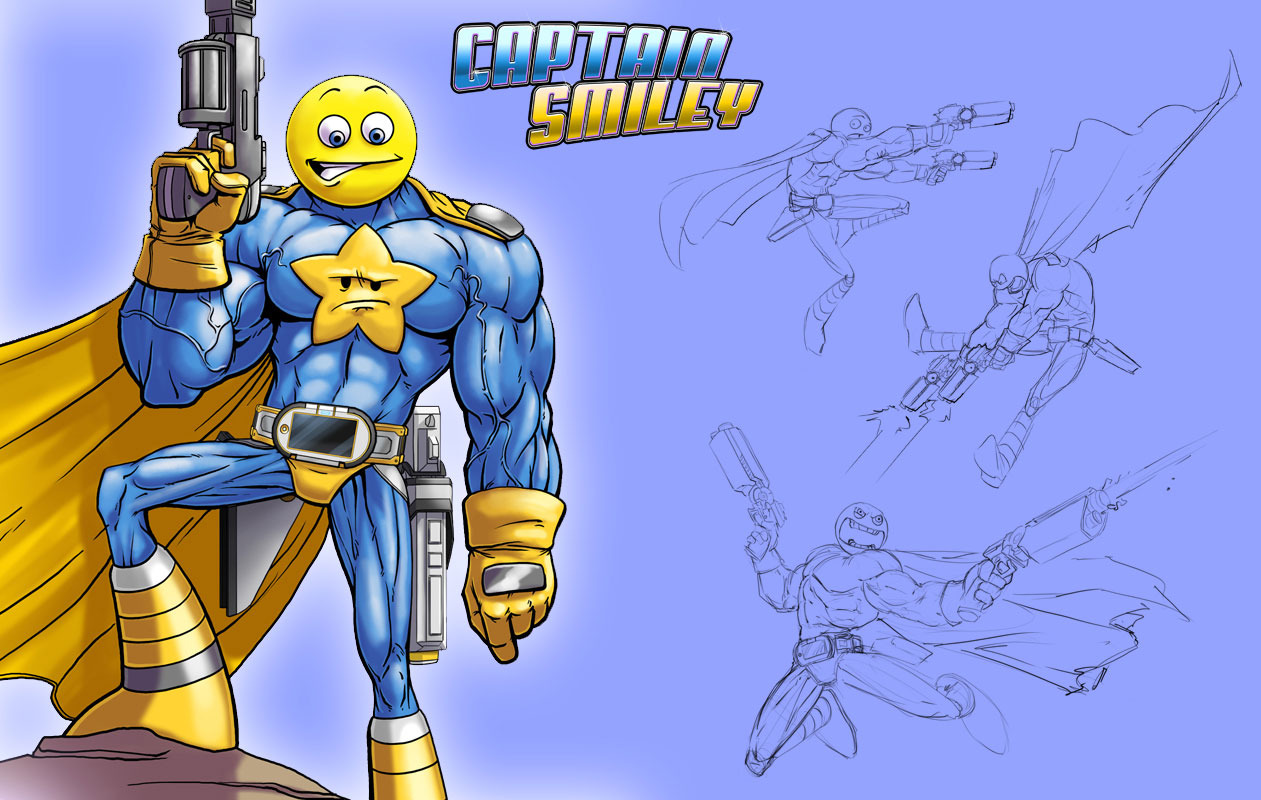 Comic Jumper : The Adventures of Captain Smiley