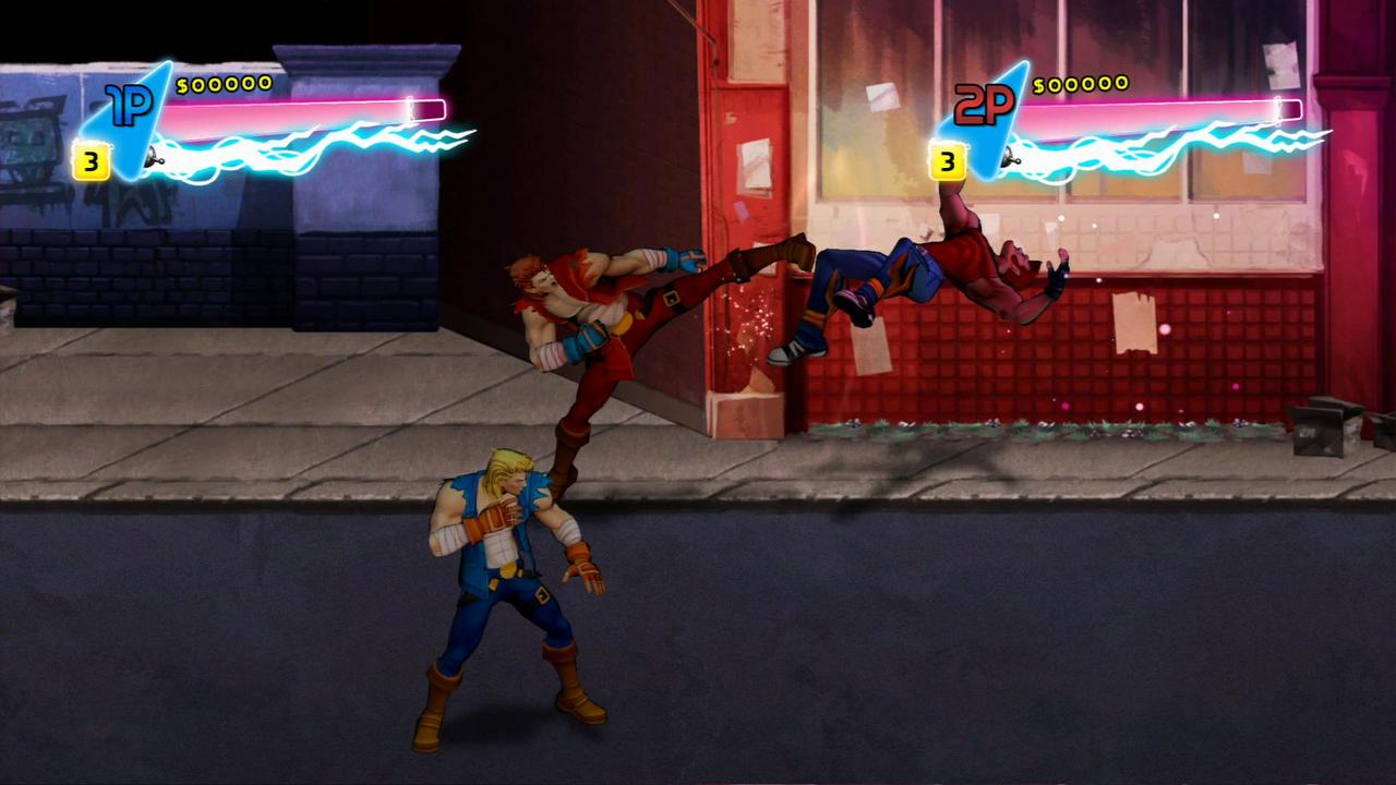 Double Dragon : Neon