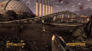 Test Fallout New Vegas : Old World Blues Xbox 360 - Screenshot 19