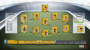 Aperçu FIFA 14 Ultimate Team Xbox 360 - Screenshot 24