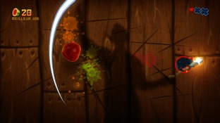 Test Fruit Ninja Kinect Xbox 360 - Screenshot 1
