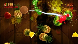 Test Fruit Ninja Kinect Xbox 360 - Screenshot 2