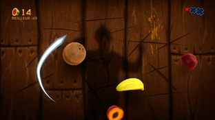 Test Fruit Ninja Kinect Xbox 360 - Screenshot 13