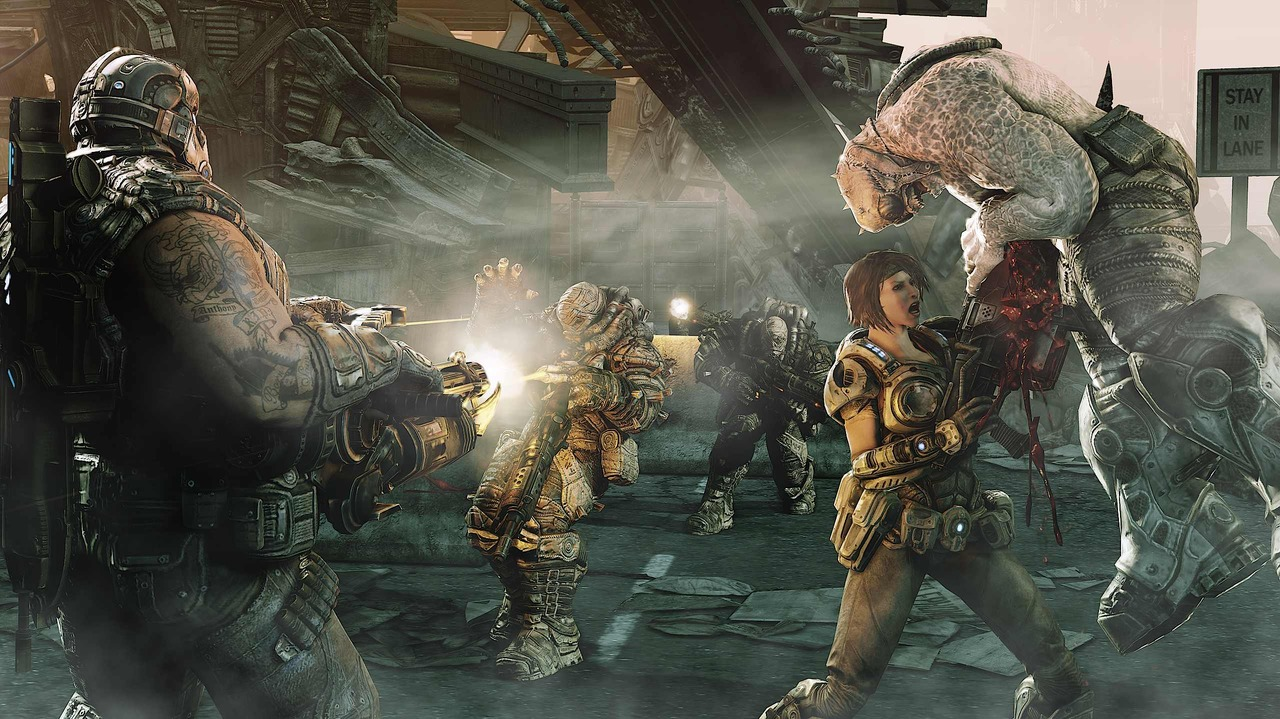 Gears Of War 3 JTAG XBOX360 TheFirst7