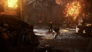 Test Gears of War Judgment Xbox 360 - Screenshot 36