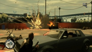 Test GTA IV : The Lost and Damned Xbox 360 - Screenshot 83