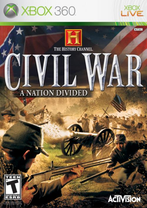 The History Channel : Civil War : A Nation Divided -XBOX360 [FS]