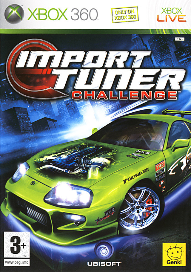 import tuner challenge sur xbox 360. Black Bedroom Furniture Sets. Home Design Ideas