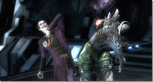 Doomsday et Captain Marvel dans Injustice
