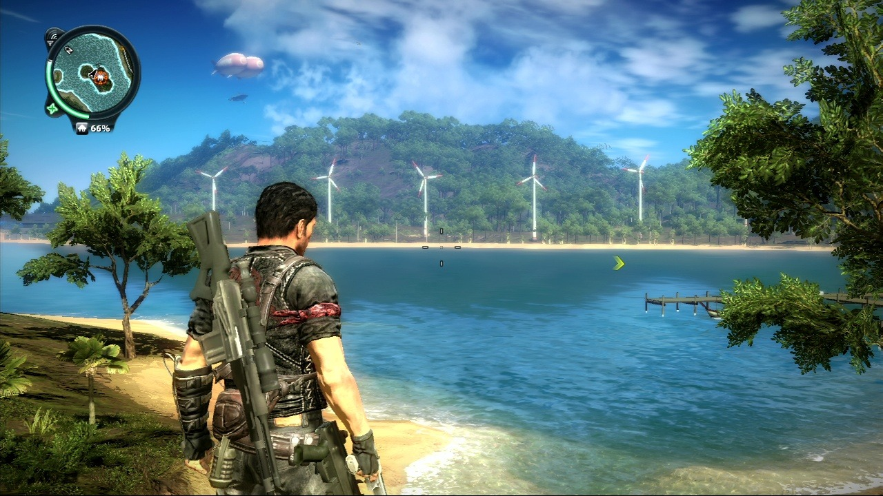 how to stop the airstrike in just cause 3