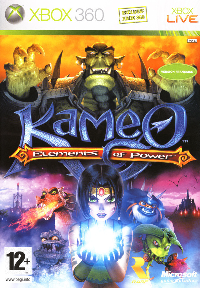 Elements Of Power - kameo   (Xbox 360)  [WU-US-FS]