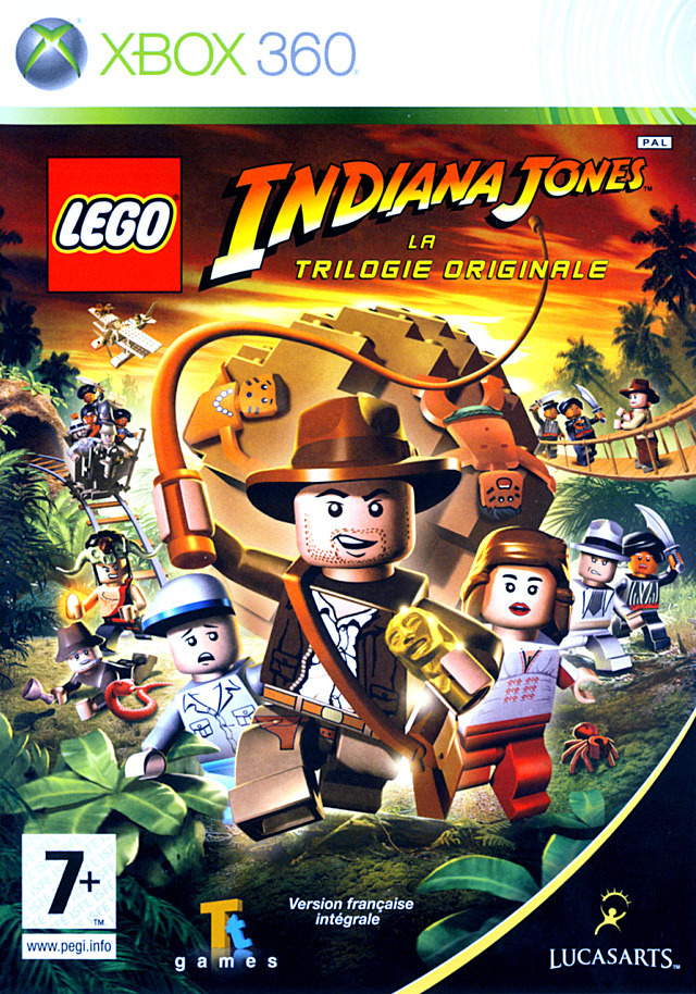 lego indiana jones la trilogie originale sur xbox 360. Black Bedroom Furniture Sets. Home Design Ideas