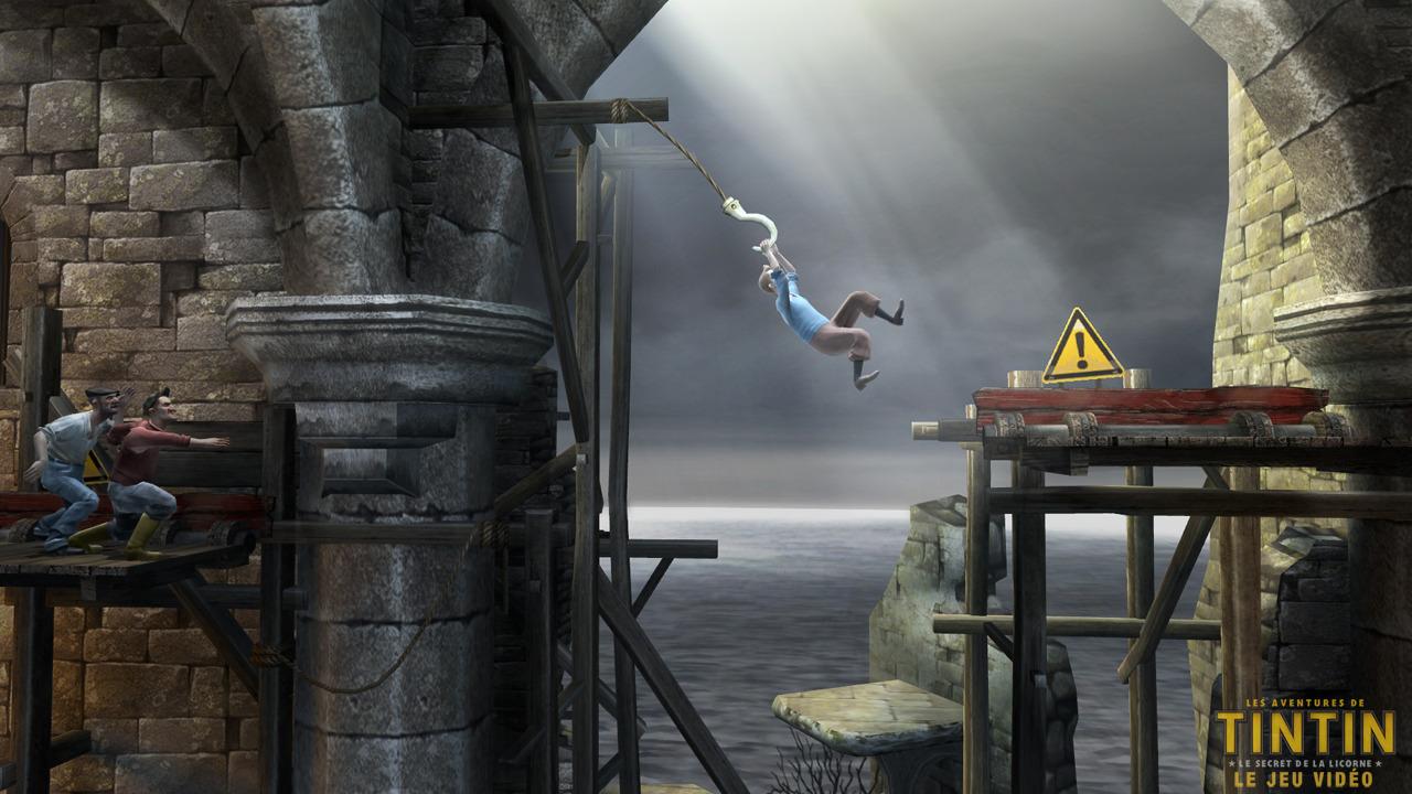 Images Les Aventures de Tintin : Le Secret de la Licorne Xbox 360 - 20