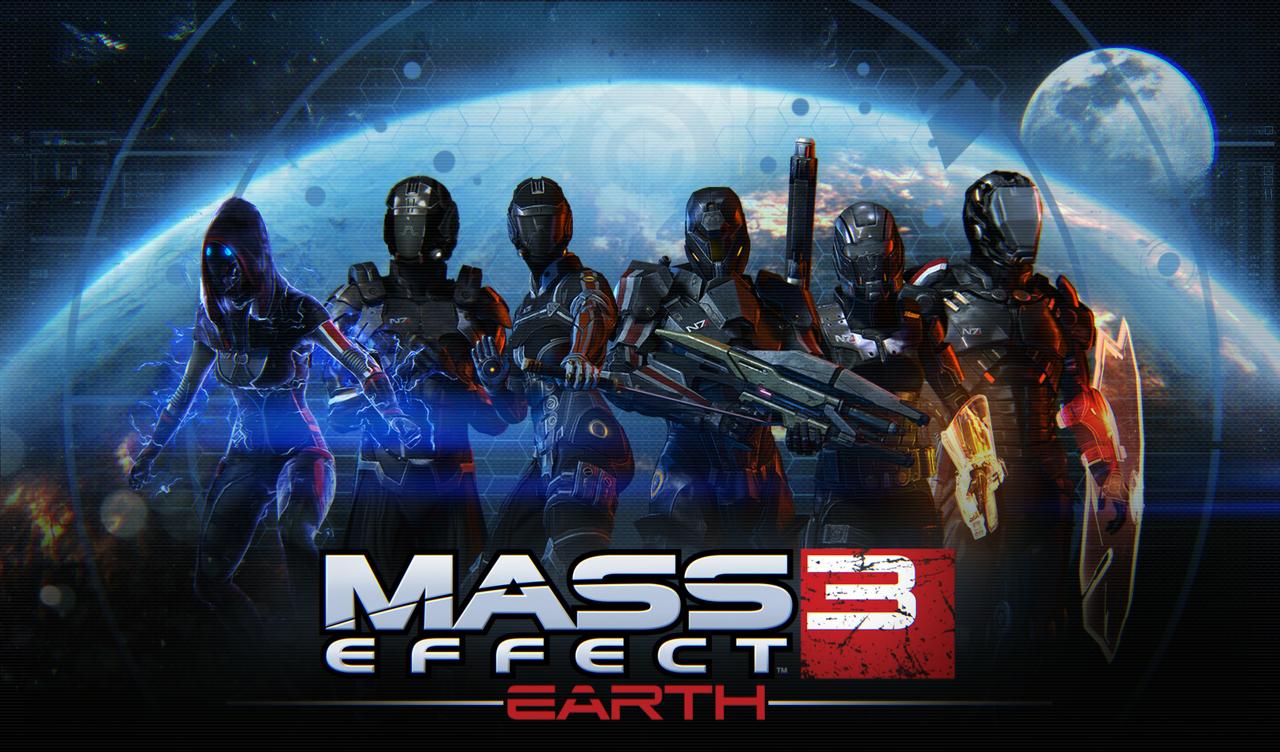 est le prochain dlc de mass effect 3 est arrivé earth est en effet