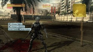 Test Metal Gear Rising : Revengeance Xbox 360 - Screenshot 170