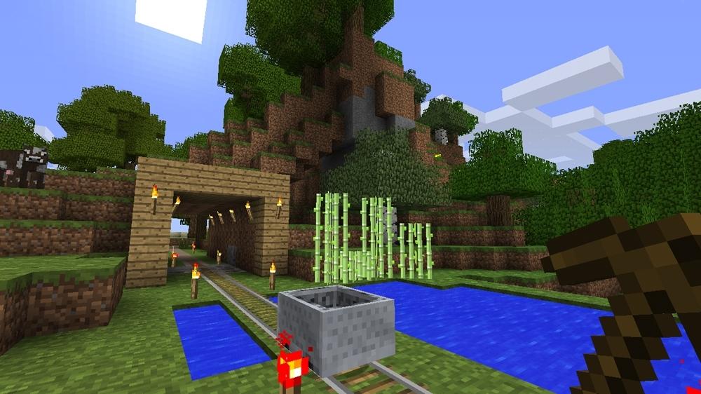 News mr poiir3 continue le tuto cr ation minecraft for Tuto maison moderne minecraft xbox 360