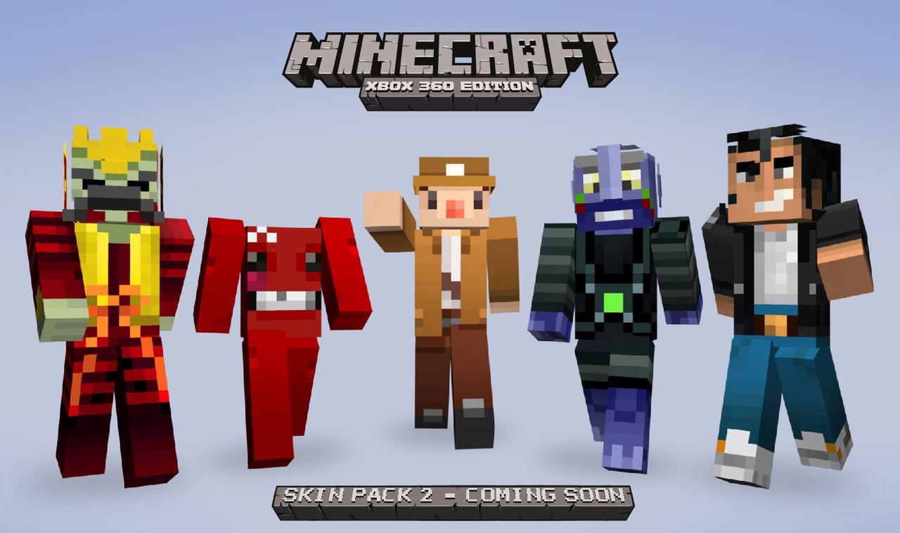 Images des skins de Minecraft 360Xbox 360 Minecraft Skins